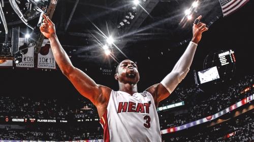 Bulls give Heat star Dwyane Wade a fitting video tribute