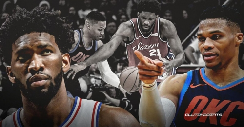 Thunder star Russell Westbrook isn't cool with Sixers' Joel Embiid, 'F–k no!'