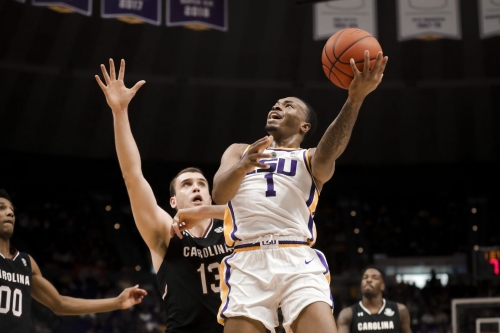 LSU rolls over Gamecocks, 89-67, to snap South Carolina's winning streak