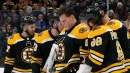 Bruins' Rask leaves game with concussion after collision vs. Rangers