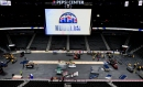 Watch: Avalanche ice hockey rink transforms into Nuggets basketball court in time-lapse video