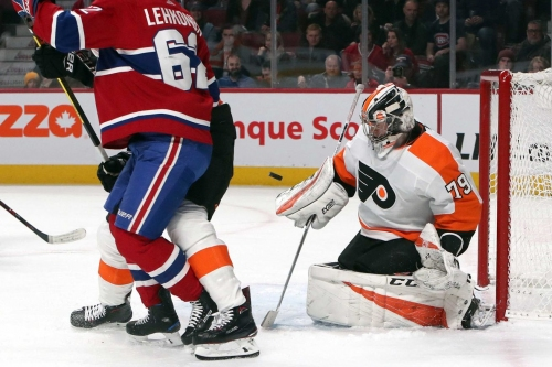 "Flyers 5, Canadiens 2: Carter ""The Hitman"" Hart"