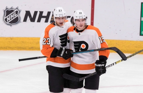 Nolan Patrick pots pair as Flyers halt Habs' 4-game winning streak