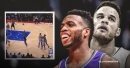 Video: Kings' Buddy Hield hits insane, one-legged game-winning 3-pointer vs. Pistons