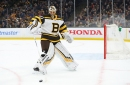 Boston Bruins Tuukka Rask Leaves Game with Concussion
