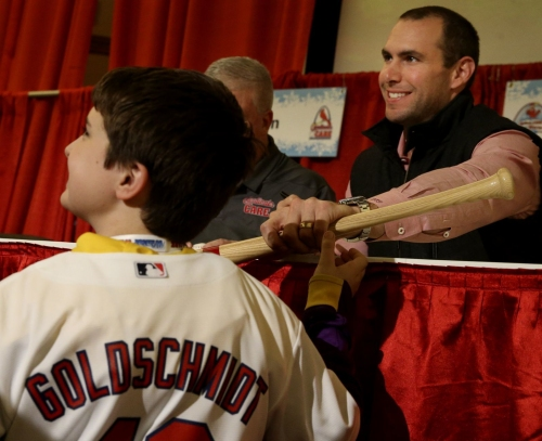 Cardinals fans get first look at newest team members at Winter Warm-Up