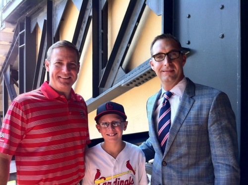 BenFred: Mozeliak's mission to fight blindness not slowing down after a decade