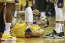 Lakers Injury Update: Lonzo Ball's X-Rays Negative, Scheduled For MRI On Sprained Ankle
