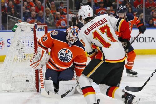 Calgary Flames (5) @ Edmonton Oilers (2): Calgary Snaps Losing Skid In Edmonton With Dominating Performance