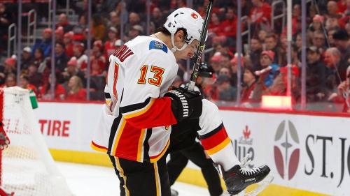Flames' Gaudreau tops Oilers' McDavid in battle of two elite scorers