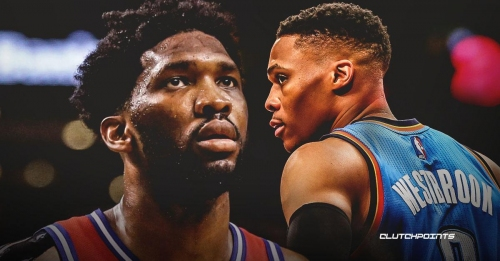 Joel Embiid could not understand what's behind Russell Westbrook's angst