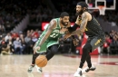 Tempers flare, Hawks falter late in physical bout against Celtics