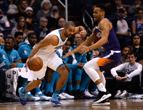 Idol to rival: How Suns rookie Elie Okobo is still learning from Hornets' Tony Parker
