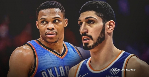 Enes Kanter reacts to Russell Westbrook's comment on his trouble with Turkish government