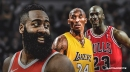 Rockets' James Harden's 163 points over last 3 games trails only Kobe Bryant, Michael Jordan in last 50 years