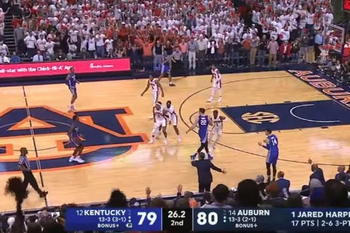 Auburn tried to beat Kentucky with a flop that actually helped the Wildcats