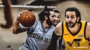 Jazz's Ricky Rubio returns to practice