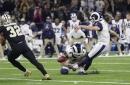 Rams vencen a Saints en tiempo extra y van al Super Bowl