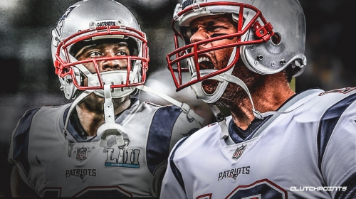Patriots video: Tom Brady finds Phillip Dorsett for TD before halftime vs. Chiefs