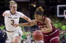 No. 1 Notre Dame women beat Boston College 92-63