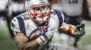 Video: Rex Burkhead pushes Patriots in front with late-game touchdown rush