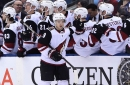 Vinnie Hinostroza scores winner as Coyotes beat slumping Maple Leafs