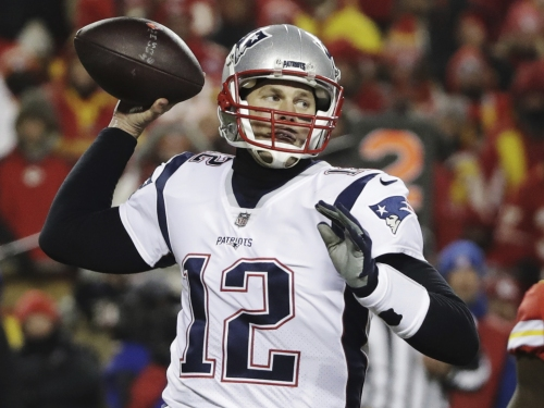 New England Patriots to play Rams in Super Bowl after winning AFC championship