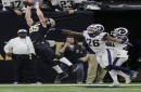 Saints tight end Dan Arnold on his missed TD catch and team's loss: 'It stings'