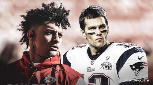 Patriots QB Tom Brady spoke with Patrick Mahomes after AFC Title game