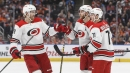 Hurricanes chase Cam Talbot then hold on to beat Oilers
