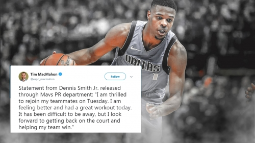 Mavs news: Dennis Smith Jr. releases statement on his return to Dallas