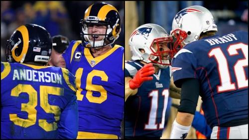 Super Bowl LII: It's a Bay Area affair — the East Bay Rams vs. the Peninsula Patriots