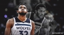 Timberwolves' Karl-Anthony Towns refers to Derrick Rose as a 'living legend'