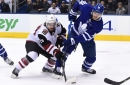 Maple Leafs call up Trevor Moore to fill in for Andreas Johnsson