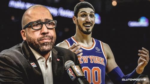 Knicks coach David Fizdale still unsure whether he'll play Enes Kanter vs. Thunder