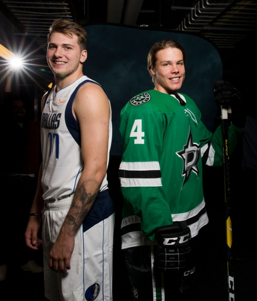 Doncic is the can't-miss guy. Heiskanen is greatness you don't notice. How 2 teenage stars are making Dallas theirs