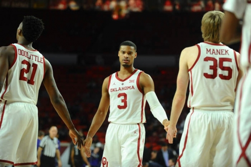 OU men's basketball: Sooners fall out of AP Top 25