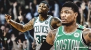 Celtics' Marcus Smart comments on improved 3-point shooting