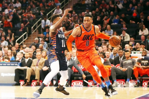 Thunder 127, Knicks 109: Scenes from a MLK Day matinee drubbing