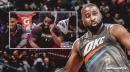 Video: Knicks fans chant for Thunder's Raymond Felton