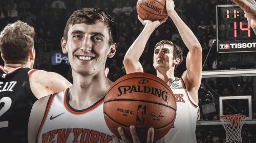 Knicks center Luke Kornet will get MRI for sprained ankle
