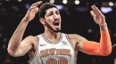 Knicks' Enes Kanter unhappy with being moved down depth chart