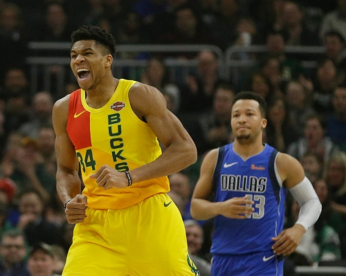 Giannis Antetokounmpo has 31 points, Luka Doncic posts triple-double as Bucks beat Mavericks 116-106
