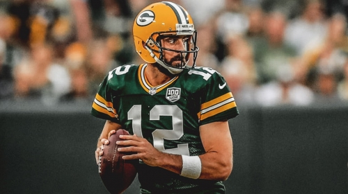 Packers QB Aaron Rodgers was only qualified QB to not throw an interception on a deep throw in 2018