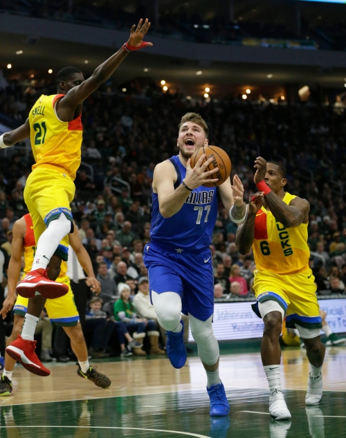 As Dallas falls to Milwaukee, it's clear that Luka Doncic, Mavericks are missing a pair of playmakers badly