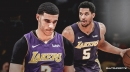 Lakers' Josh Hart will start in place of Lonzo Ball