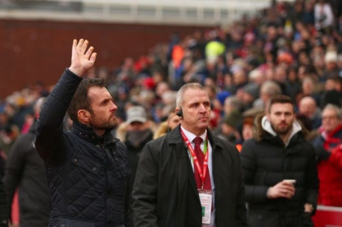 Six brilliant quotes from Nathan Jones's first fortnight as Stoke City manager