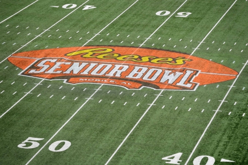 Live Twitter updates from Senior Bowl weigh-ins, practices, & more