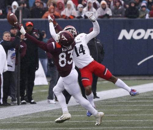 Virginia Tech starting receiver entering name in transfer portal