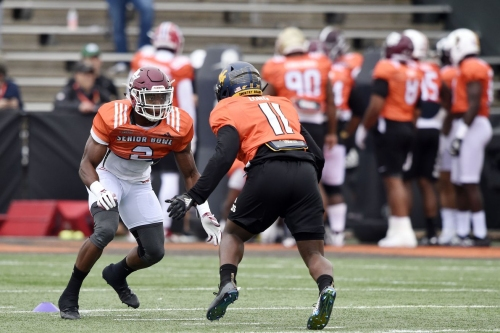 Breaking down all three levels of defense at Day 1 of the Senior Bowl